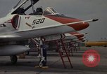 Image of aircraft TA-4J Beeville Texas Naval Air Station Chase Field USA, 1982, second 22 stock footage video 65675052120