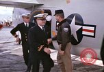 Image of aircraft C-1A Mediterranean Sea, 1966, second 32 stock footage video 65675052125