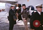 Image of aircraft C-1A Mediterranean Sea, 1966, second 33 stock footage video 65675052125