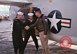 Image of aircraft C-1A Mediterranean Sea, 1966, second 36 stock footage video 65675052125