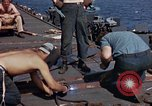 Image of USS Randolph Pacific Ocean, 1945, second 30 stock footage video 65675052151