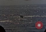 Image of battleship Pacific Ocean, 1945, second 55 stock footage video 65675052159