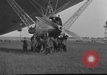 Image of LZ-127 Graf Zeppelin airship Friedrichshafen Germany, 1928, second 33 stock footage video 65675052186