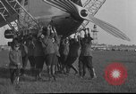 Image of LZ-127 Graf Zeppelin airship Friedrichshafen Germany, 1928, second 39 stock footage video 65675052186