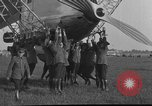 Image of LZ-127 Graf Zeppelin airship Friedrichshafen Germany, 1928, second 40 stock footage video 65675052186