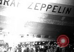 Image of LZ-127 Graf Zeppelin airship Lakehurst New Jersey USA, 1928, second 34 stock footage video 65675052188