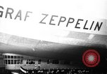 Image of LZ-127 Graf Zeppelin airship Lakehurst New Jersey USA, 1928, second 46 stock footage video 65675052188