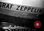 Image of LZ-127 Graf Zeppelin airship Lakehurst New Jersey USA, 1928, second 47 stock footage video 65675052188