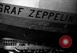Image of LZ-127 Graf Zeppelin airship Lakehurst New Jersey USA, 1928, second 48 stock footage video 65675052188