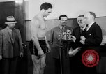 Image of Joe Louis fights in boxing bout Chicago Illinois USA, 1937, second 26 stock footage video 65675052201