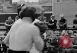Image of Joe Louis fights in boxing bout Chicago Illinois USA, 1937, second 58 stock footage video 65675052201