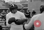 Image of Joe Louis fights in boxing bout Chicago Illinois USA, 1937, second 59 stock footage video 65675052201