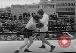 Image of Joe Louis fights in boxing bout Chicago Illinois USA, 1937, second 62 stock footage video 65675052201