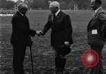 Image of French Ambassador Paul Claudel West Point New York USA, 1929, second 3 stock footage video 65675052207