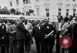 Image of Texas delegation visits President Hoover Washington DC USA, 1929, second 4 stock footage video 65675052213