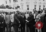 Image of Texas delegation visits President Hoover Washington DC USA, 1929, second 9 stock footage video 65675052213