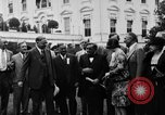 Image of Texas delegation visits President Hoover Washington DC USA, 1929, second 13 stock footage video 65675052213