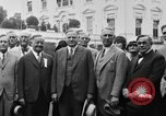 Image of Texas delegation visits President Hoover Washington DC USA, 1929, second 14 stock footage video 65675052213