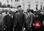 Image of Texas delegation visits President Hoover Washington DC USA, 1929, second 15 stock footage video 65675052213
