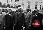 Image of Texas delegation visits President Hoover Washington DC USA, 1929, second 16 stock footage video 65675052213