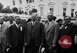 Image of Texas delegation visits President Hoover Washington DC USA, 1929, second 17 stock footage video 65675052213