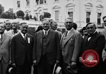Image of Texas delegation visits President Hoover Washington DC USA, 1929, second 18 stock footage video 65675052213