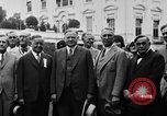 Image of Texas delegation visits President Hoover Washington DC USA, 1929, second 19 stock footage video 65675052213