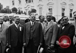 Image of Texas delegation visits President Hoover Washington DC USA, 1929, second 20 stock footage video 65675052213