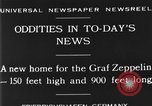 Image of newly constructed airship hangar Friedrichshafen Germany, 1929, second 1 stock footage video 65675052216