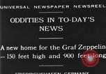 Image of newly constructed airship hangar Friedrichshafen Germany, 1929, second 2 stock footage video 65675052216