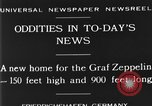 Image of newly constructed airship hangar Friedrichshafen Germany, 1929, second 3 stock footage video 65675052216