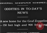 Image of newly constructed airship hangar Friedrichshafen Germany, 1929, second 4 stock footage video 65675052216