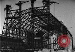 Image of newly constructed airship hangar Friedrichshafen Germany, 1929, second 11 stock footage video 65675052216