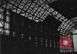 Image of newly constructed airship hangar Friedrichshafen Germany, 1929, second 21 stock footage video 65675052216