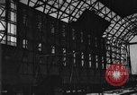 Image of newly constructed airship hangar Friedrichshafen Germany, 1929, second 24 stock footage video 65675052216