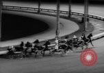 Image of harness race Long Island New York USA, 1962, second 21 stock footage video 65675052221