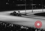Image of harness race Long Island New York USA, 1962, second 38 stock footage video 65675052221