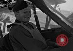 Image of pilots of cub planes Italy, 1944, second 33 stock footage video 65675052240