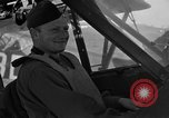 Image of pilots of cub planes Italy, 1944, second 34 stock footage video 65675052240