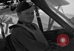 Image of pilots of cub planes Italy, 1944, second 37 stock footage video 65675052240