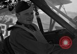 Image of pilots of cub planes Italy, 1944, second 39 stock footage video 65675052240
