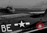 Image of pilots of cub planes Italy, 1944, second 43 stock footage video 65675052240