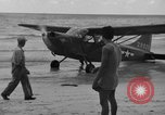 Image of U.S. Army pilots fly Stinson L-5 Sentinal airplane  Palawan Philippines, 1945, second 25 stock footage video 65675052254