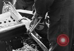 Image of Crashed Piper Cub (L-4) airplane prepared for towing Italy, 1944, second 8 stock footage video 65675052267