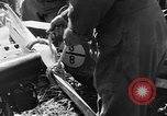 Image of Crashed Piper Cub (L-4) airplane prepared for towing Italy, 1944, second 13 stock footage video 65675052267