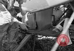 Image of Crashed Piper Cub (L-4) airplane prepared for towing Italy, 1944, second 22 stock footage video 65675052267