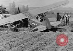 Image of Crashed Piper Cub (L-4) airplane prepared for towing Italy, 1944, second 44 stock footage video 65675052267