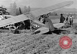 Image of Crashed Piper Cub (L-4) airplane prepared for towing Italy, 1944, second 45 stock footage video 65675052267