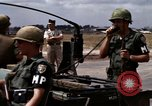 Image of United States troops Vietnam Bien Hoa Air Base, 1968, second 20 stock footage video 65675052303