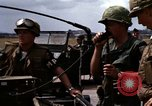 Image of United States troops Vietnam Bien Hoa Air Base, 1968, second 24 stock footage video 65675052303